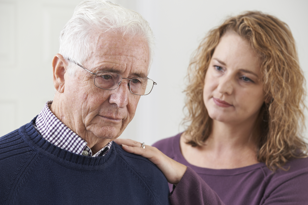 Dealing with depression in aged care