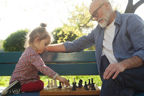 Why children and the elderly benefit from time spent together